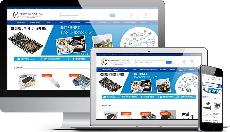 Eletrônica Castro • E-commerce